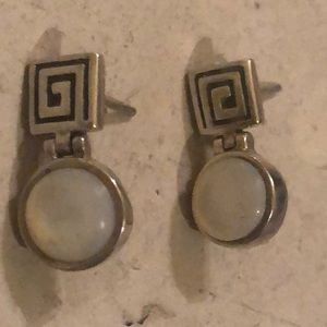 Adorable Mother of Pearl Post Earrings